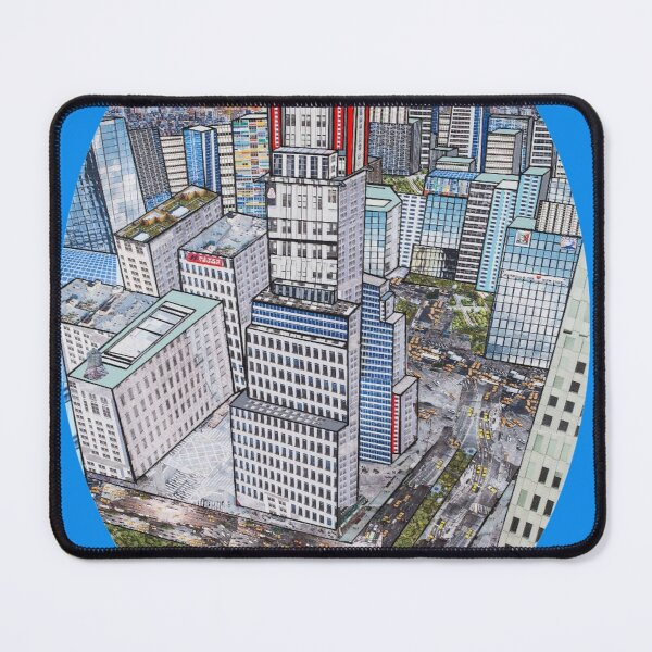 New York on my mind - (Chrysler Building) Mouse Pad