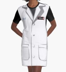 Umbrella Corporation Lab Coat Graphic T-Shirt Dress