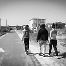 Walking With Friends by WeeZie