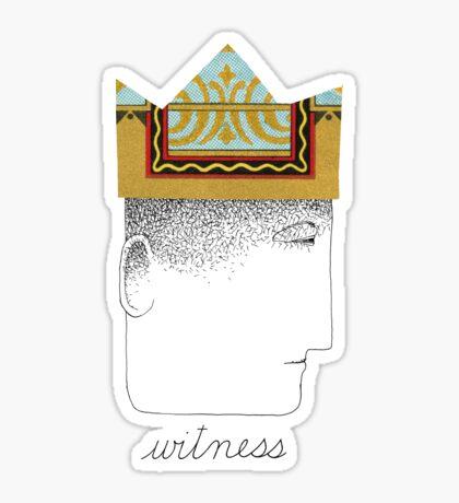 Silent Witness Sticker