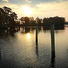 Early Morning at Edenton Marina by WeeZie