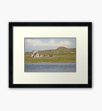 Iona Abbey from Fionnphort Framed Print