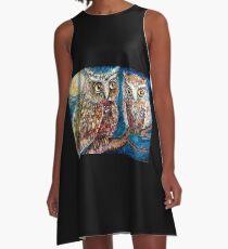 Night Owl A-Line Dress