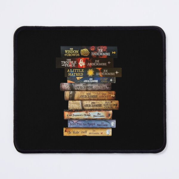 Joe Abercrombie Book Stack Mouse Pad