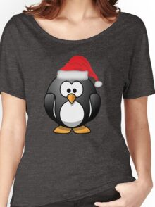 Christmas Penguin Shirt Women's Relaxed Fit T-Shirt