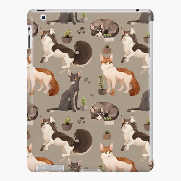 Cat Pattern iPad Snap Case