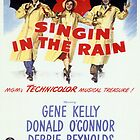 Singin' In The Rain Classic Movie Poster by Simon Gentleman