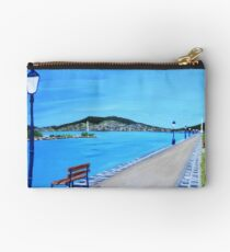 Walkway by the lake Studio Pouch