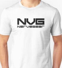 Sword Art Online - Nerve Gear (Black) Unisex T-Shirt