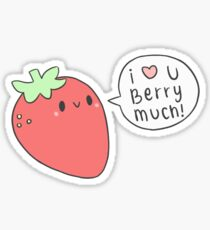 I Love You Berry Much! Sticker