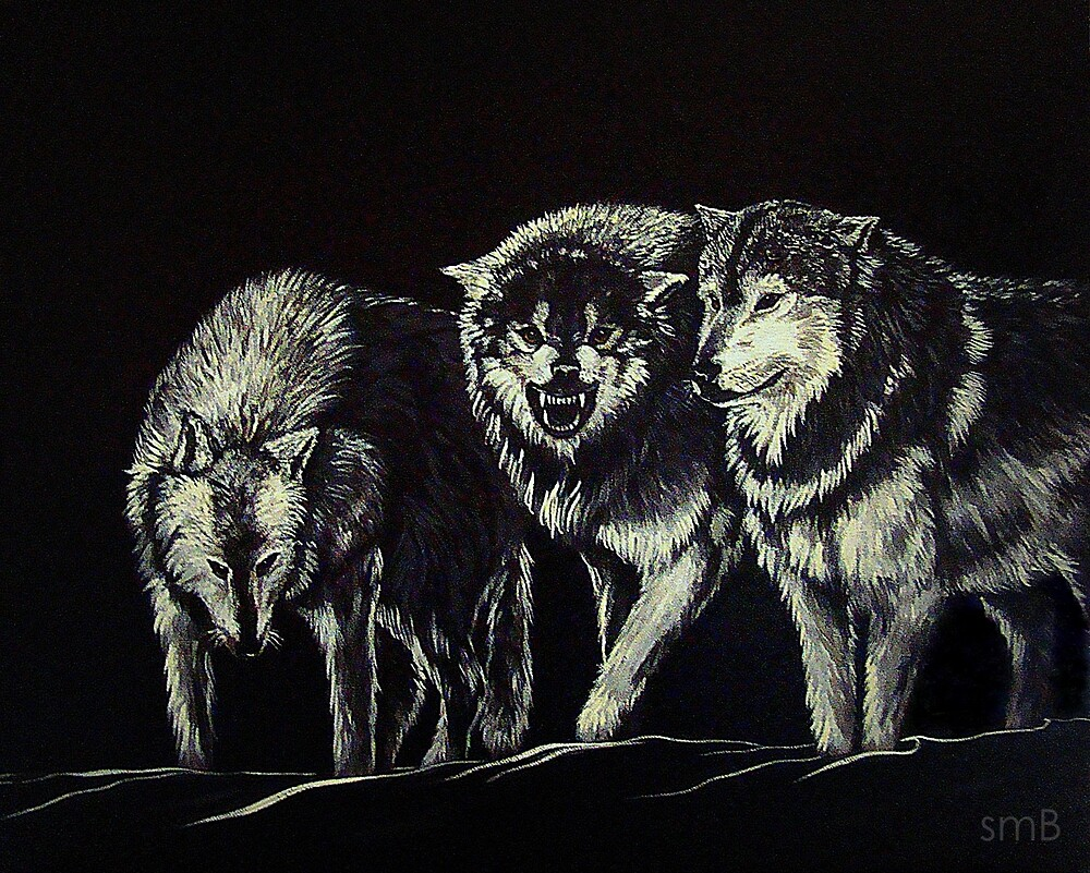 """""""The Wolves Are Here"""" by Susan McKenzie Bergstrom"""
