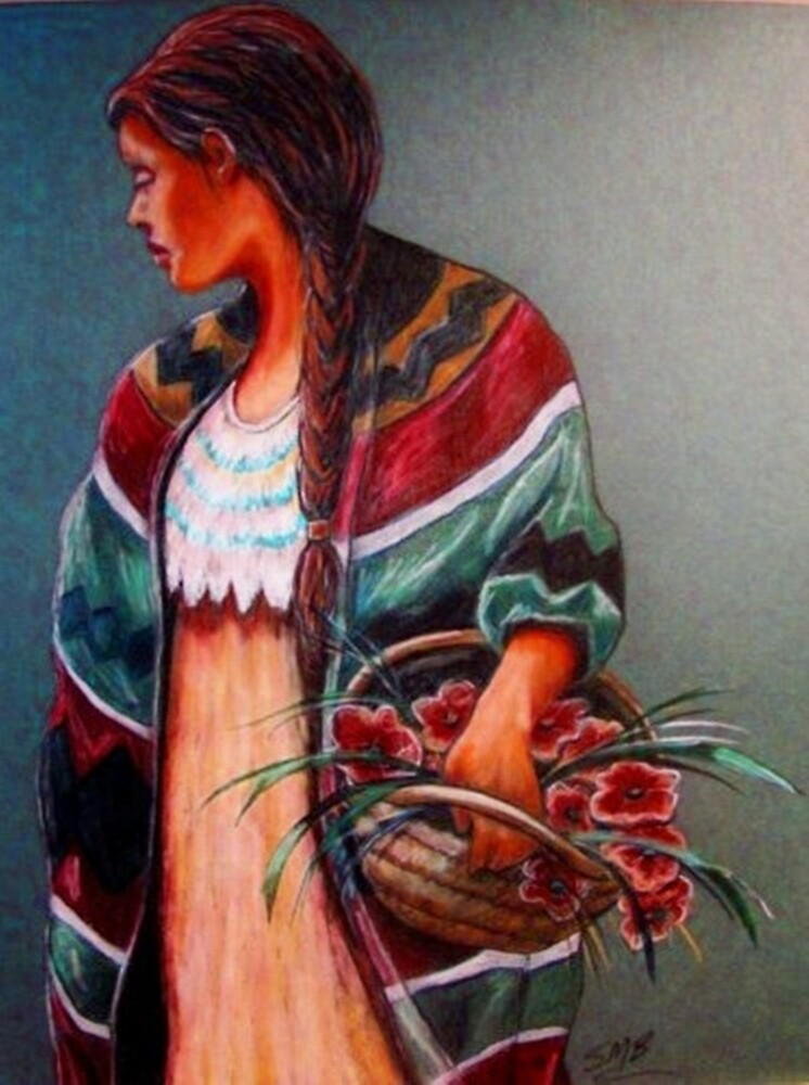 """The Flower Girl #2"" by Susan McKenzie Bergstrom"