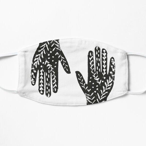 Hand - handprint T-Shirt - hands shirt Flat Mask