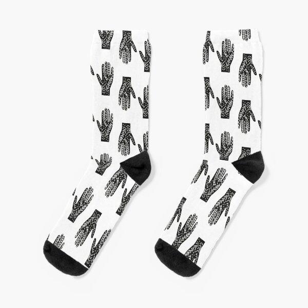 Hand – Händeabdruck T-Shirt – hands shirt Socken