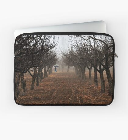 Out Walking in the Orchard Laptop Sleeve