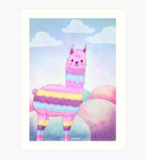 Cotton Alpaca Lámina artística
