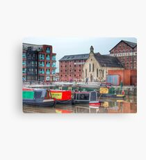 Gloucester Docks, England Canvas Print
