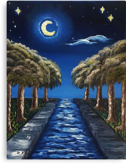 The Starry Canal by MelanieJoy