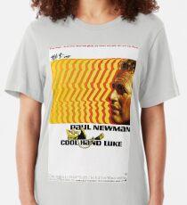 Cool Hand Luke Classic Movie Poster Slim Fit T-Shirt