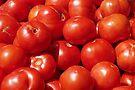 Farmers Market Tomatoes by John Ayo