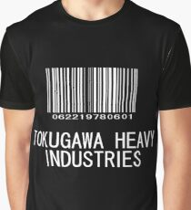 Tokugawa Heavy Industries (White) (Metal Gear) Graphic T-Shirt
