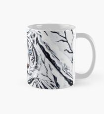 White Tiger Blending In Mug