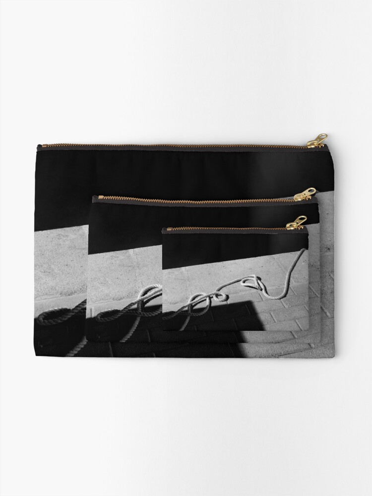 Alternate view of The Hanging Rope Zipper Pouch
