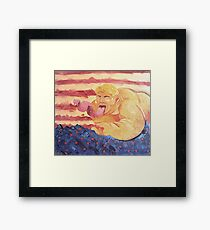 It Came From Within Framed Print