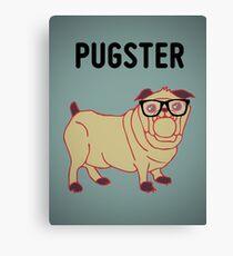 Pugster... Canvas Print