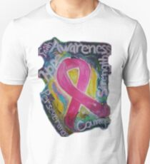 Abstract Breast cancer Unisex T-Shirt