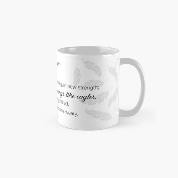 Like Wings on Eagles...Isaiah 40-31 Classic Mug