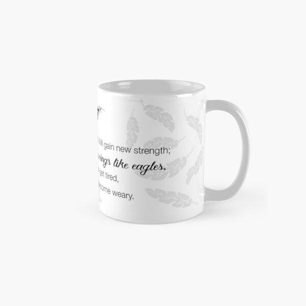 Like Wings on Eagles...Isaiah 40-31 Classic Mug