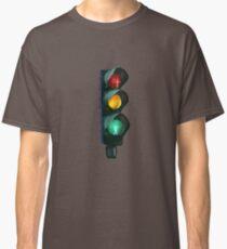 Traffic Lights Red Yellow Green Classic T-Shirt