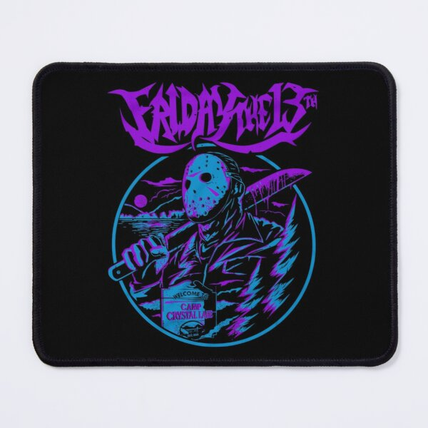 Jason Voorhees Friday the 13th Mouse Pad
