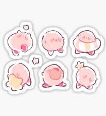 smol kirby stickers Sticker