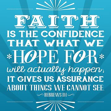 Hebrews 11:1 Verse by jstunkard