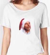 Bad Santa Smoking Women's Relaxed Fit T-Shirt