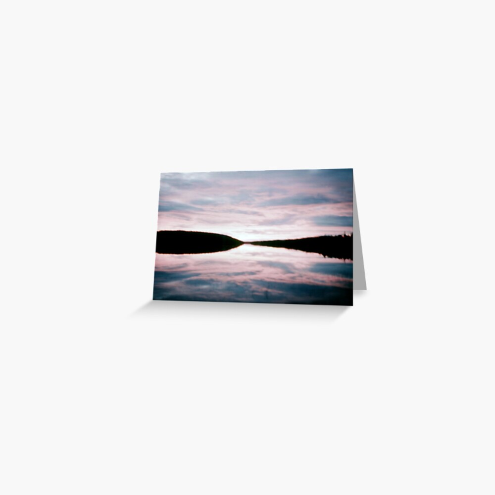 Beautiful Setting 2 Greeting Card