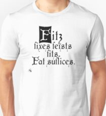 The Fitz and The Fool (Fool) Unisex T-Shirt