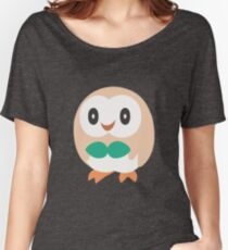 Rowlet - Pokemon Sun and Moon Women's Relaxed Fit T-Shirt