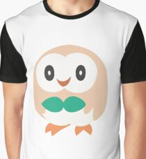 Rowlet - Pokemon Sun and Moon Graphic T-Shirt