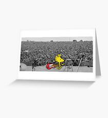 Woodstock at Woodstock Greeting Card