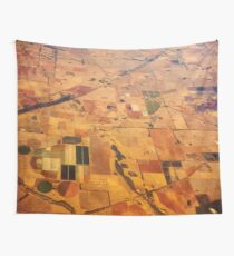 Fields of South Australia Wall Tapestry