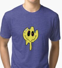 Psychedelic smiley Tri-blend T-Shirt