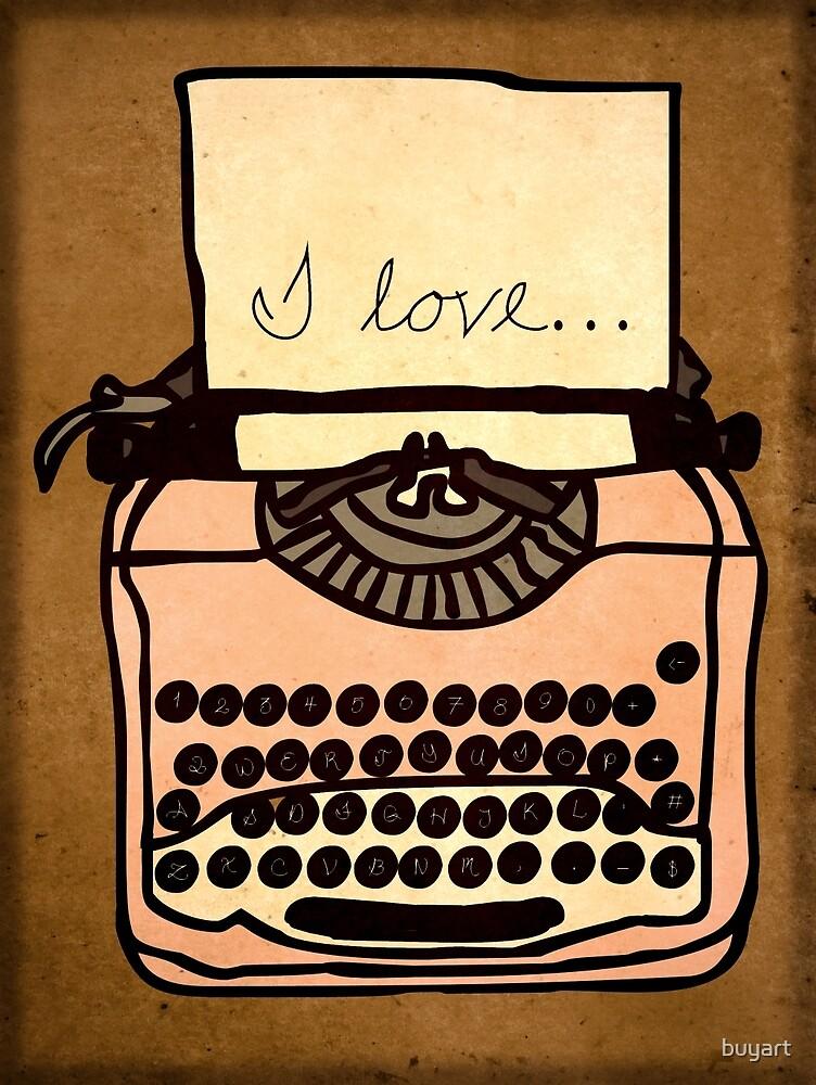 I love... by buyart