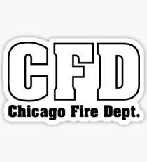 CFD Firefighter Sticker