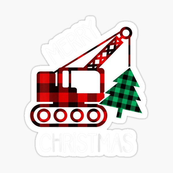 Kids Christmas Gift for Toddler Boy Truck Lover Sticker