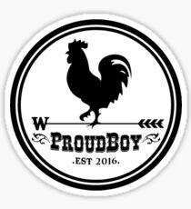 Proud Boys Sticker