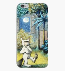 Where the Wild Things Are - Max in the jungle iPhone Case