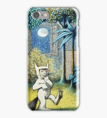 Where the Wild Things Are - Max in the jungle iPhone Case/Skin